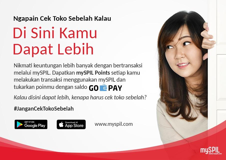 Spil Gandeng GoPay dalam Program mySpil Points