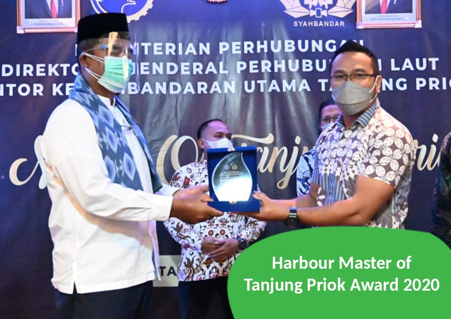 Harbour Master of Tanjung Priok Award 2020